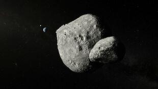 Planetoida podwójna zbliżyła się do Ziemi