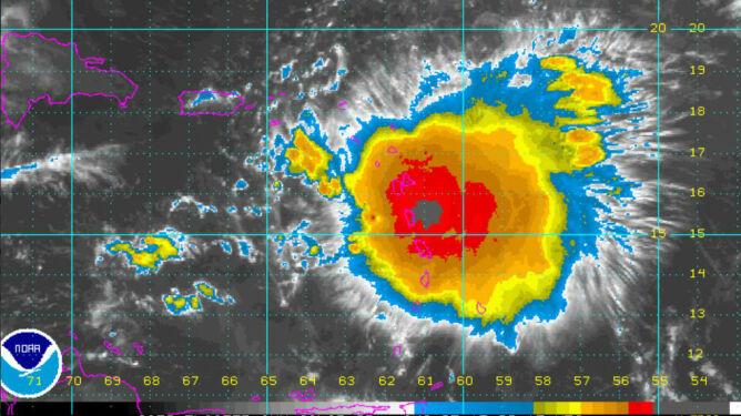 Erika zdewastowała karaibską wyspę. <br />Dominika liczy szkody