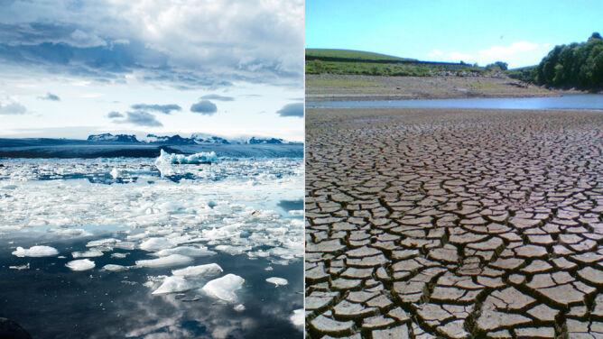 """Skutki zmian klimatycznych od 2011 roku. <br />""""Zwiększone ryzyko ekstremalnych zdarzeń"""""""